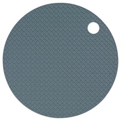 OMTÄNKSAM Jar gripper, blue-grey, 15 cm