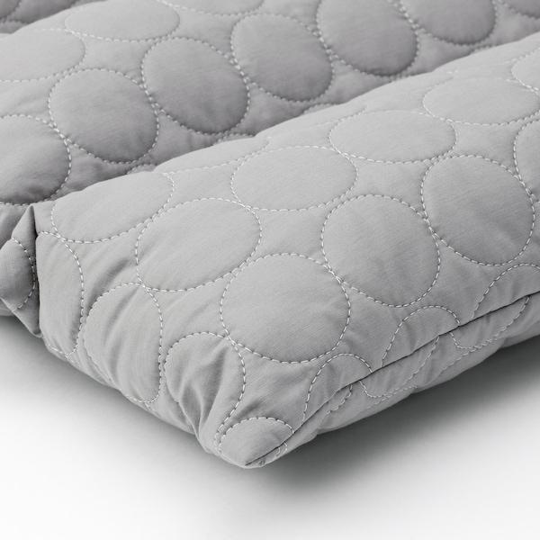 OMTÄNKSAM multi cushion grey 50 cm 75 cm 8 cm 320 g 555 g