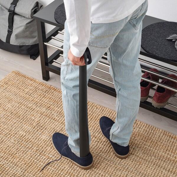 OMTÄNKSAM shoehorn anthracite 80 cm