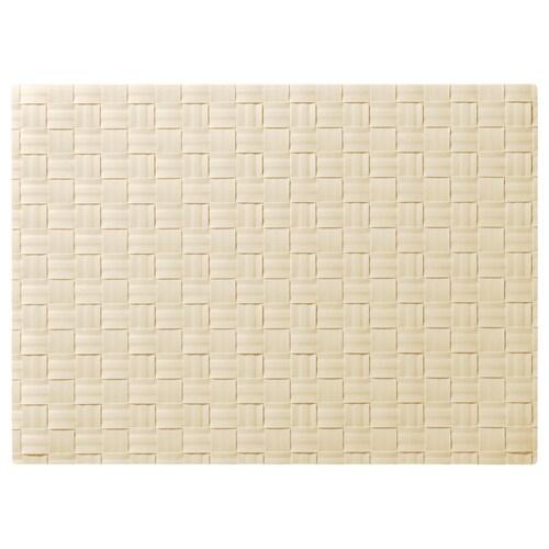 ORDENTLIG place mat off-white 46 cm 33 cm