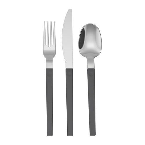 IKEA 30-piece cutlery set MARTORP Stainless steel UK-B786