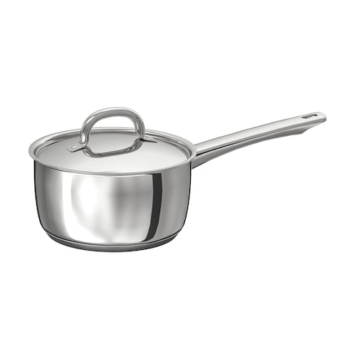 OUMBÄRLIG saucepan with lid 10 cm 2 l