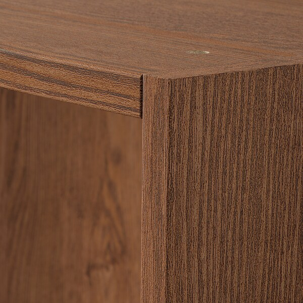 PAX Wardrobe frame, brown stained ash effect, 75x58x201 cm