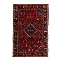 PERSISK MIX rug, low pile, handmade