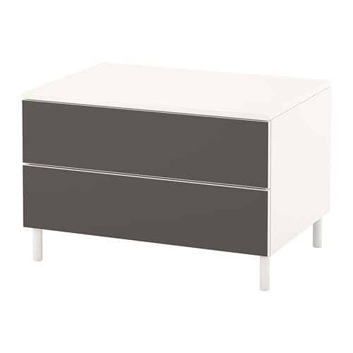 PLATSA Chest of 2 drawers