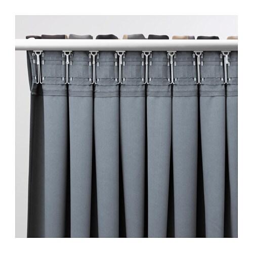 Superior PRAKTLILJA Block Out Curtains, 1 Pair   IKEA