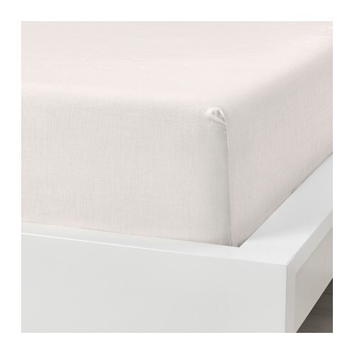 PUDERVIVA Fitted sheet IKEA