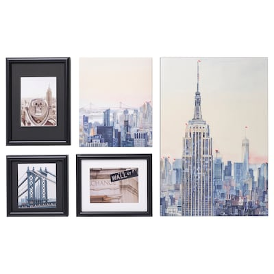 RAMHÄLL Picture, set of 5, New York, I love you