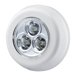 RAMSTA LED minilamp, battery-operated white