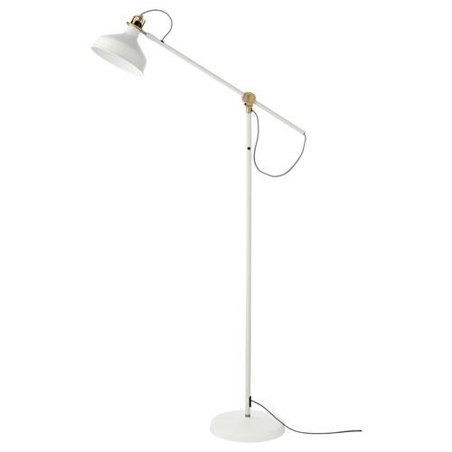 RANARP floor/reading lamp off-white 11 W 153 cm 185 cm