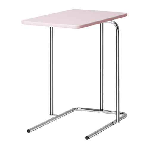 rian side table pale pink ikea