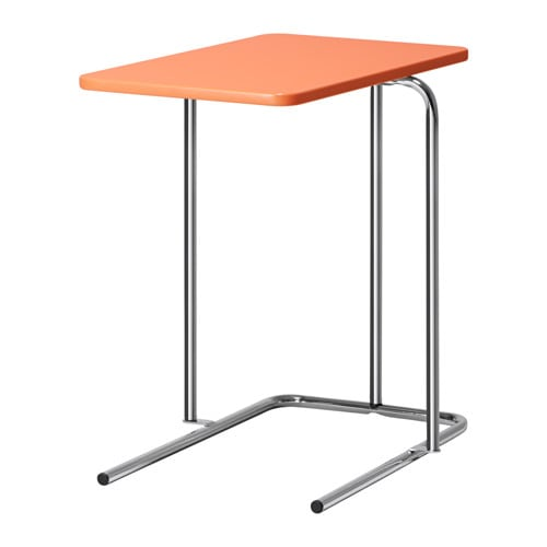 Rian side table light orange ikea for Ikea green side table