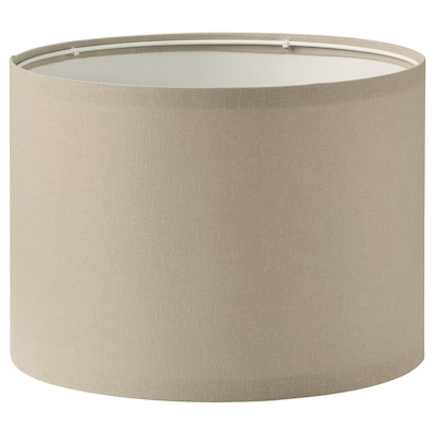 RINGSTA Lamp shade, beige, 33 cm