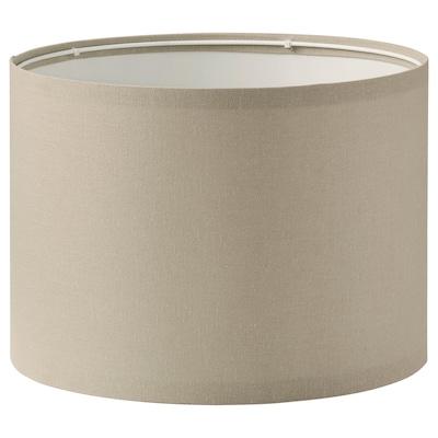 RINGSTA Lamp shade, beige, 33 cm
