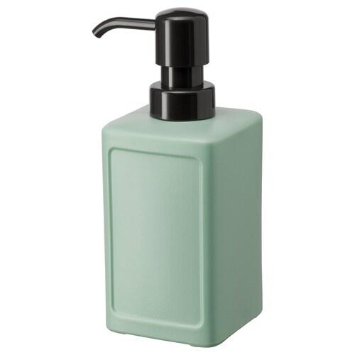 RINNIG soap dispenser green 18 cm 450 ml