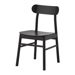 RÖNNINGE chair, black