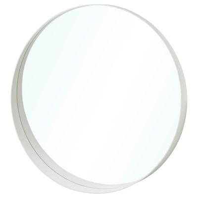ROTSUND Mirror, white, 80 cm