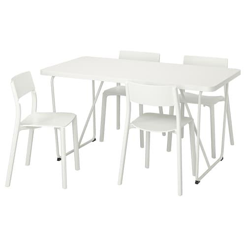IKEA RYDEBÄCK/BACKARYD / JANINGE Table and 4 chairs