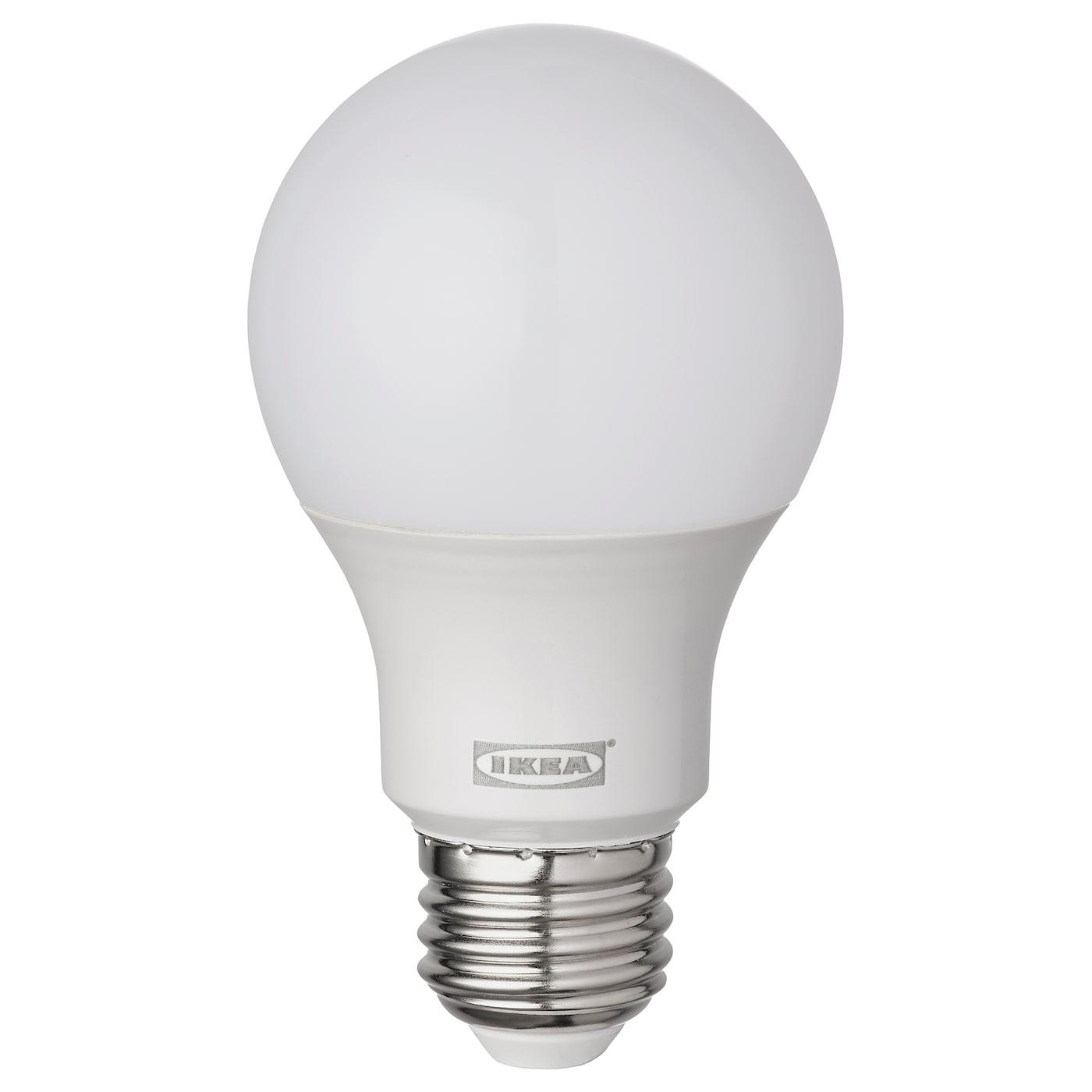 RYET LED bulb E26 470 lumen, globe opal white