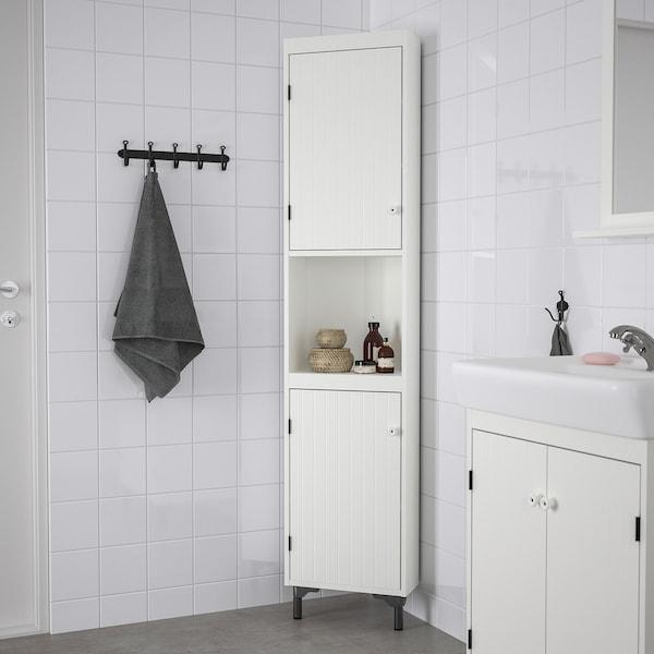 SILVERÅN Corner unit, white, 40 cm