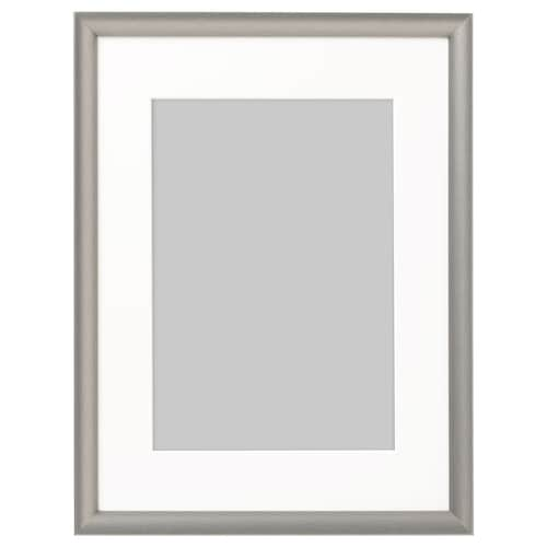 SILVERHÖJDEN frame silver-colour 30 cm 40 cm 21 cm 30 cm 20 cm 29 cm 33 cm 43 cm