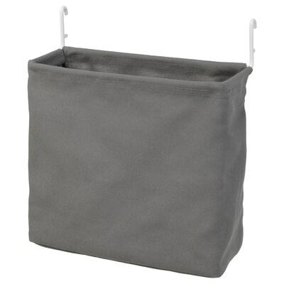 SKÅDIS Storage bag, white/grey