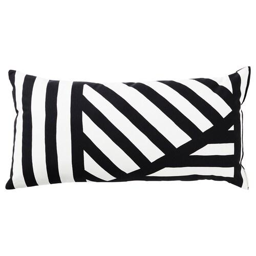 SKÄRVFRÖ cushion black/white 30 cm 60 cm 280 g 360 g
