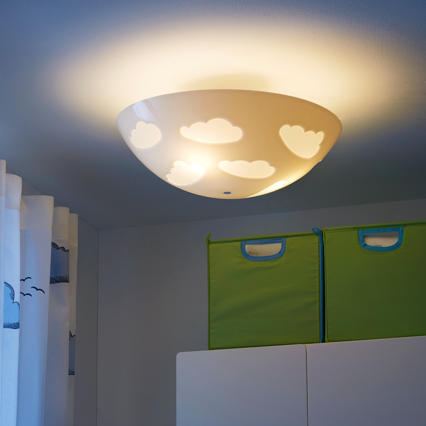 Skojig Ceiling Lamp White Ikea
