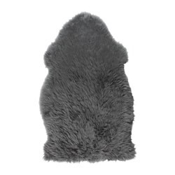 SKOLD sheepskin, grey