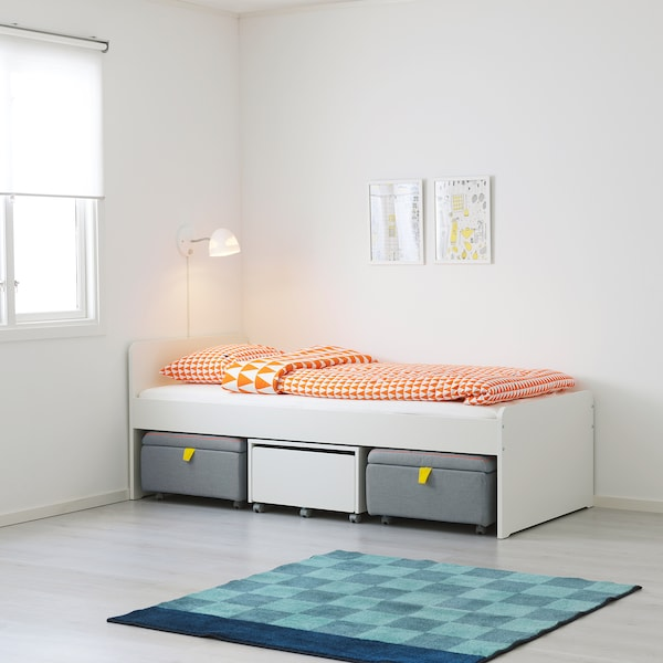 IKEA SLÄKT Bed frame with slatted bed base