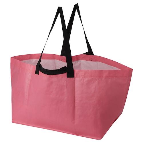 SLUKIS carrier bag, large pink 55 cm 35 cm 37 cm 71 l