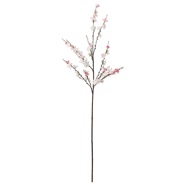 SMYCKA Artificial flower, cherry-blossoms/pink, 130 cm