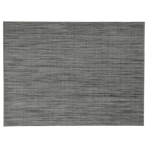 SNOBBIG place mat dark grey 45 cm 33 cm