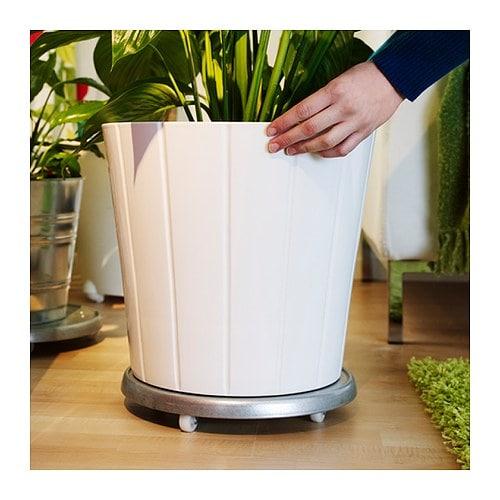 SOCKER Plant mover, in/outdoor/galvanised, 31 cm