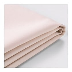 SÖDERHAMN cover for chaise longue, Samsta light pink