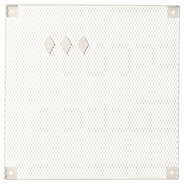 SÖDERGARN Memoboard with magnets, white, 60x60 cm