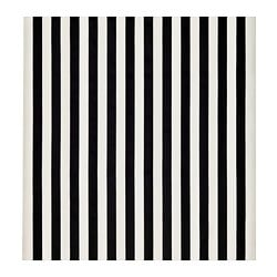 SOFIA fabric, broad-striped, black/white
