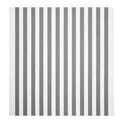 SOFIA fabric, broad-striped, white/grey