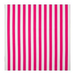 SOFIA fabric, broad-striped, bright pink/white