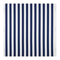 SOFIA fabric, broad-striped, blue/white