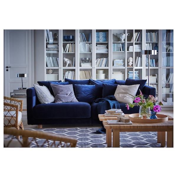 Three Seat Sofa Sandbacka Dark Blue