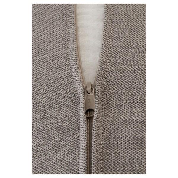 STOCKSUND cover for 3-seat sofa Nolhaga grey-beige