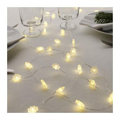 Str la led lighting chain with 40 lights ikea for Led lichterkette ikea