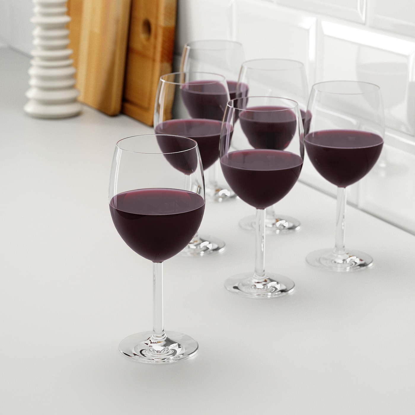 IKEA Svalka SET OF 6  Red Wine Glasses For Home Bar Art /& Craft  30 cl