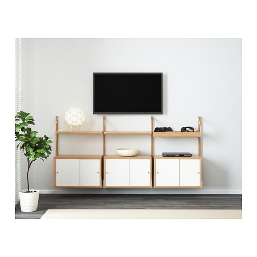 SVALNÄS Wall Mounted Storage Combination IKEA