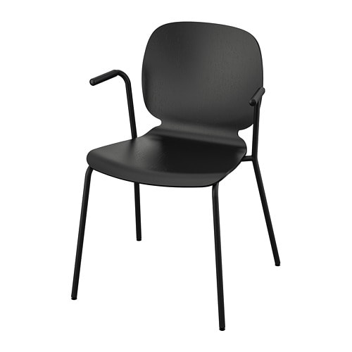 SVENBERTIL Chair with armrests