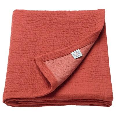 TILLGIVEN Blanket, dark red, 85x115 cm