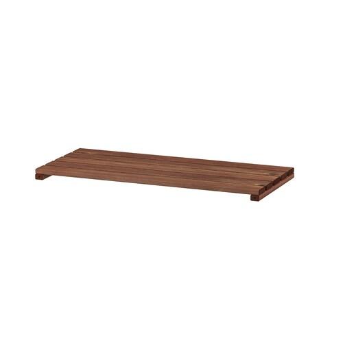 TORDH shelf, outdoor brown stained 70.0 cm 70.0 cm 32.0 cm 35.0 cm 33 kg 33 kg