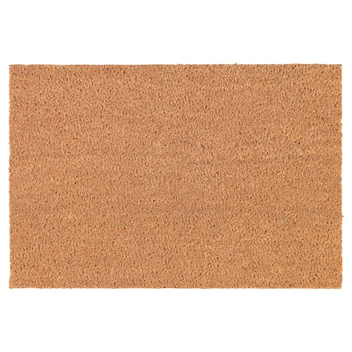 TRAMPA door mat natural 60 cm 40 cm 16 mm 0.24 m² 5900 g/m²