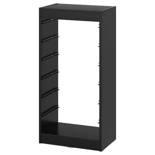 TROFAST frame black 46 cm 30 cm 95 cm